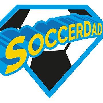 SoccerDad - Soccer Dad - Soccer Superhero by milibadic