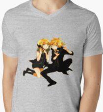 Rin & Len Men's V-Neck T-Shirt