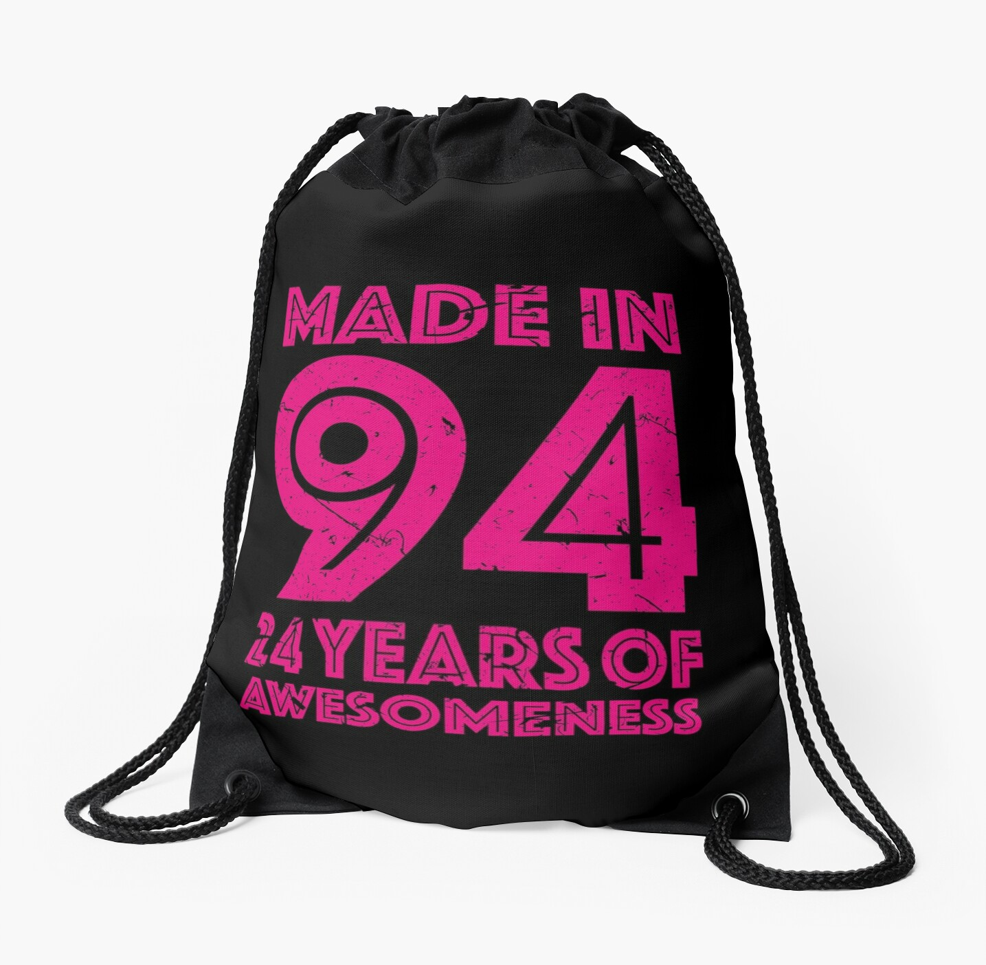 24th Birthday Gift Adult Age 24 Year Old Women Womens Drawstring