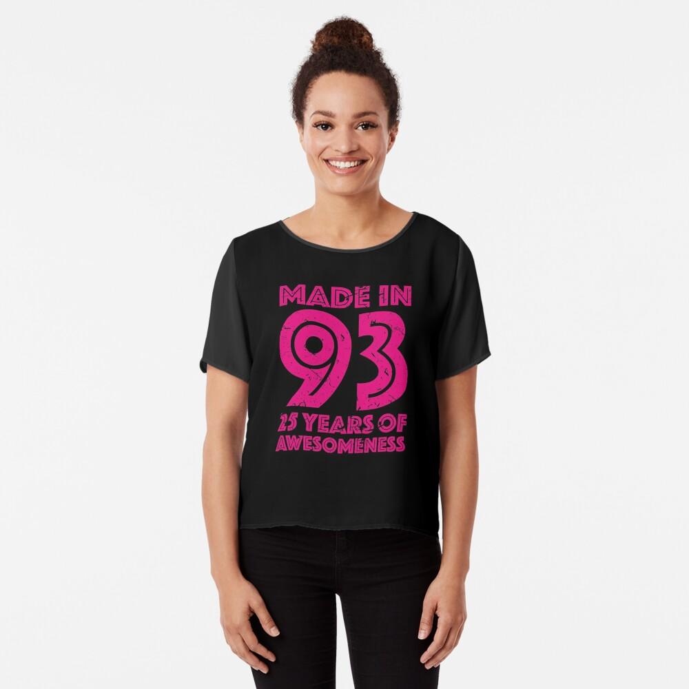 25th Birthday Gift Adult Age 25 Year Old Women Womens T Shirt By Mattlok