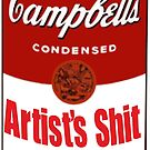 Campbell Soup -- Artists Shit by rubanovart