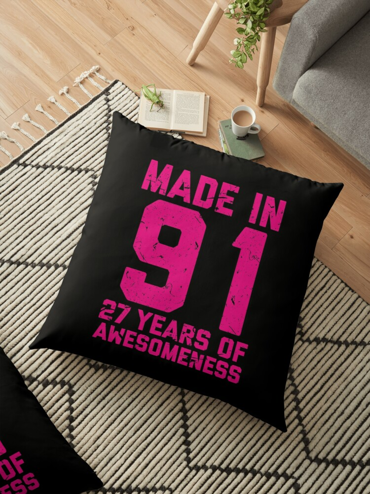 27th Birthday Gift Adult Age 27 Year Old Women Womens