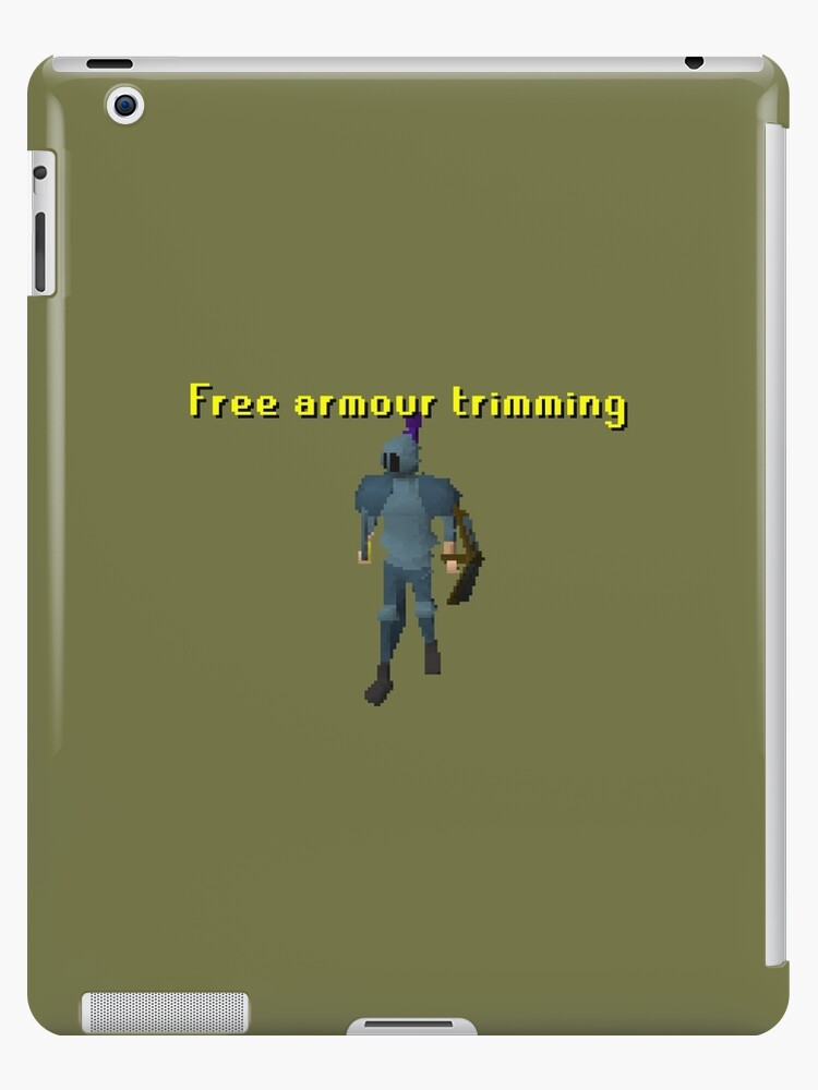 Runescape Free Armour Trimming Ipad Cases Skins By Scammell