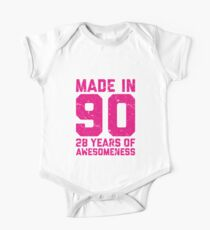 28th Birthday Gift Adult Age 28 Year Old Women Womens One Piece - Short Sleeve