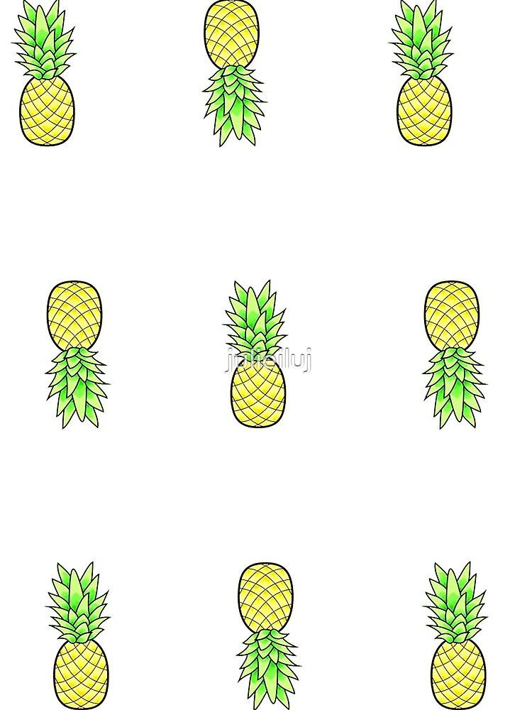 viele kleine Ananas im Stil von julieiluj