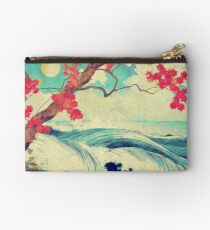Waking to the Wild and Beautiful Ocean of Dhin Studio Pouch
