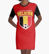 78ae82ff8 2018 Belgium Soccer TShirt World Football Jersey Cup Graphic T-Shirt Dress
