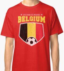 2018 Belgium Soccer TShirt World Football Jersey Cup Classic T-Shirt