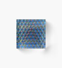 Cubic Honeycombs Acrylic Block