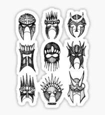 Masks Of Now Sticker