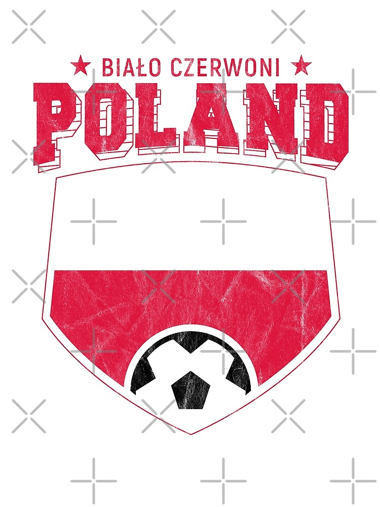 887e41c9573 2018 Poland Football T Shirt World Soccer Jersey Cup by screenworks
