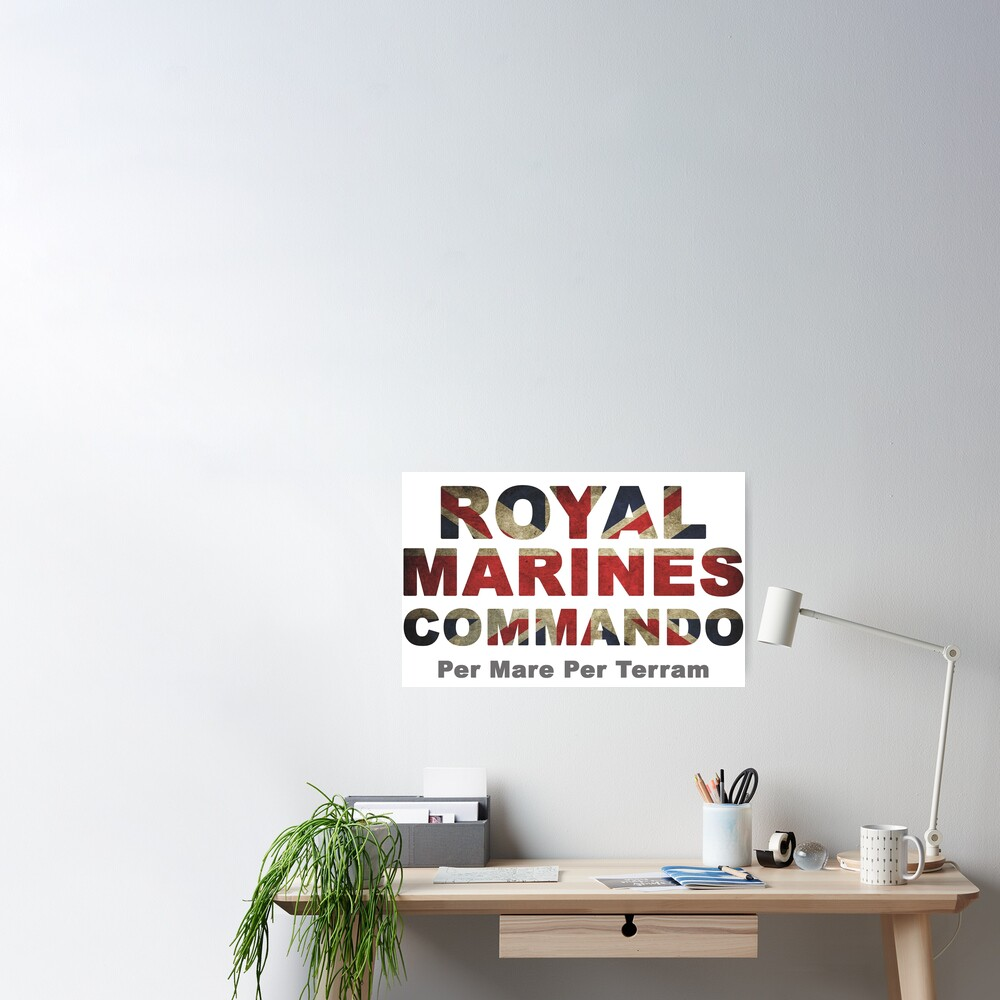 Royal Marines  Poster