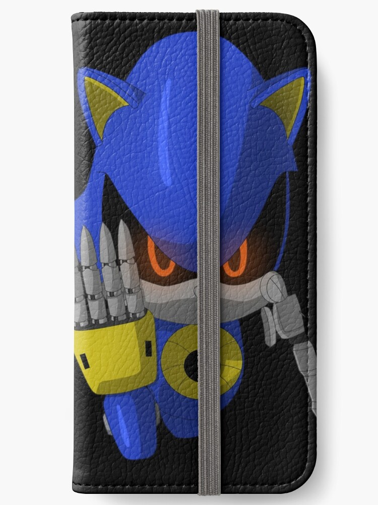 Metal Sonic Emerges Iphone Wallet By Sergeant16bit Redbubble