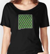 Shamrock Shirts For Women New Mexico Saint Patty Women's Relaxed Fit T-Shirt