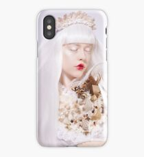 Lady Frost iPhone Case