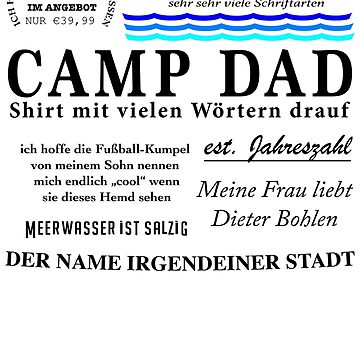 CAMP DAD by SigmonS