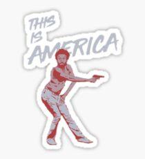 Childish Gambino (This is America) Sticker