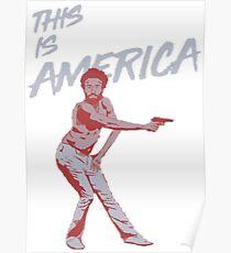 Childish Gambino (This is America) Poster