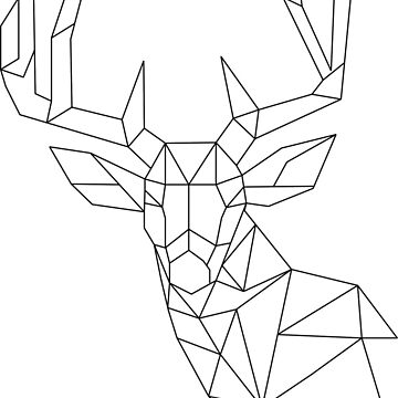 Polygon Deer by NataschaL