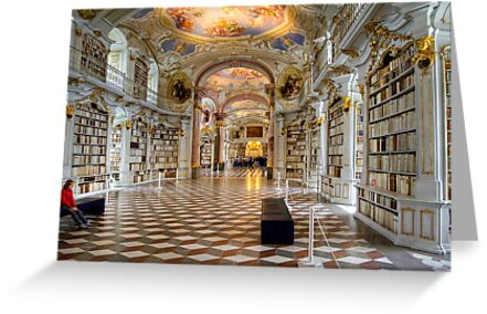 Admont Benedictine Monastery - Library by paolo1955