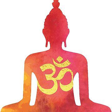 Buddha Om by criyoj