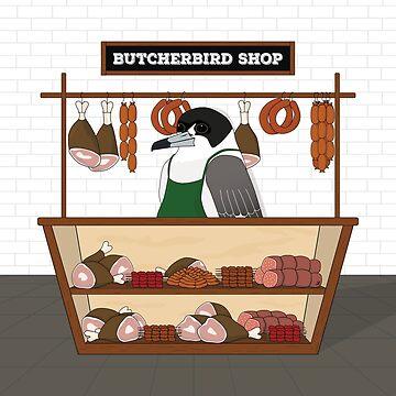 ButcherBird Shop by yanatibear