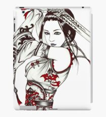 Geisha with Sword  iPad Case/Skin