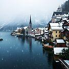 Winter in Hallstatt, Austria by Yen Baet