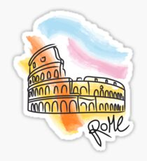 Rome Colosseum Sticker