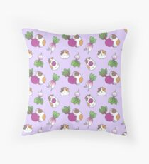 Guinea Pig Pattern Throw Pillow