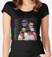 BROCKHAMPTON Women's Fitted Scoop T-Shirt