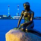 Statue of the Little Mermaid in Copenhagen, Denmark by Yen Baet