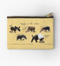 Tapirs of the World Studio Pouch