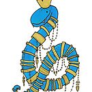 Gold Bling Snake King by TakoraTakora