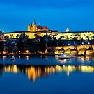 Prague Castle and Charles Bridge, Czech Republic by Yen Baet