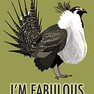 Fabulous Greater Sage-Grouse by BennuBirdy