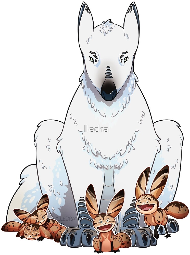 Loth Wolf and Cats by lledra