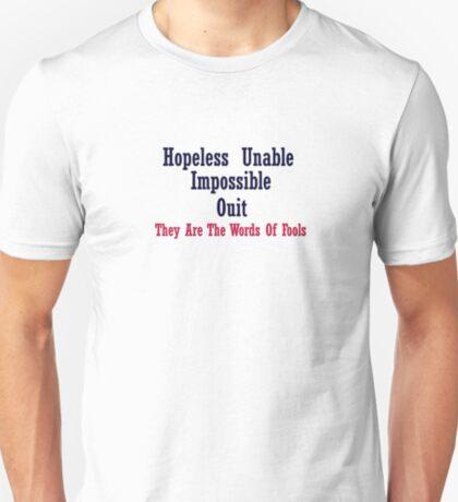 Some Wisdom T-Shirt
