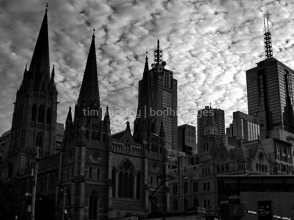 city block. melbourne, australia by tim buckley | bodhiimages
