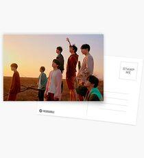 BTS FAKE LIEBE Postkarten