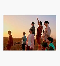BTS FAKE LOVE Photographic Print