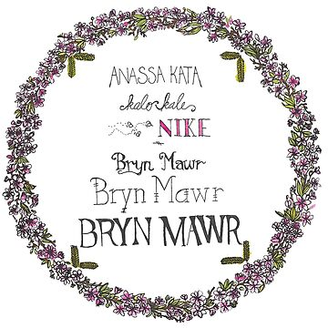 STICKER of Anassa Kata Wreath  by Mother-of-Psych