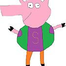 Slim Pig by Gabe-Draws