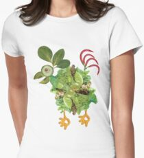 veggie chick Women's Fitted T-Shirt