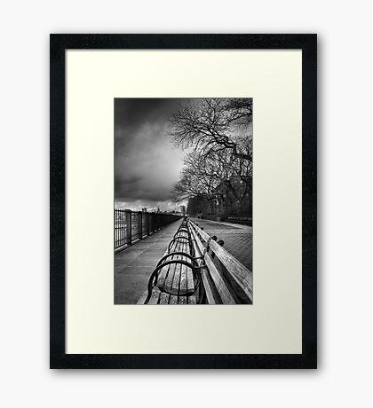 Brooklyn Heights Promenade Framed Print