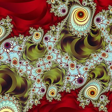 Ornate Fractal Pattern by pinkal