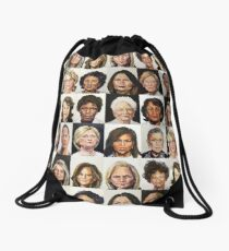 Sheroes Drawstring Bag