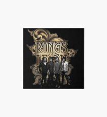 Kings Of Leon Band Tour Art Board