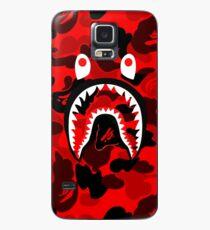 red sark Case/Skin for Samsung Galaxy