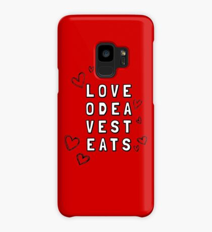 Love Odea Vest Eats Case/Skin for Samsung Galaxy